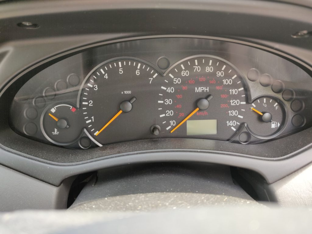Maintain the fuel focus. Keep revs on the low side