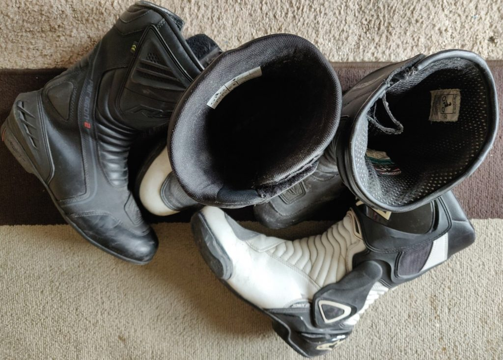 A good set of boots. The key to happy feet!
