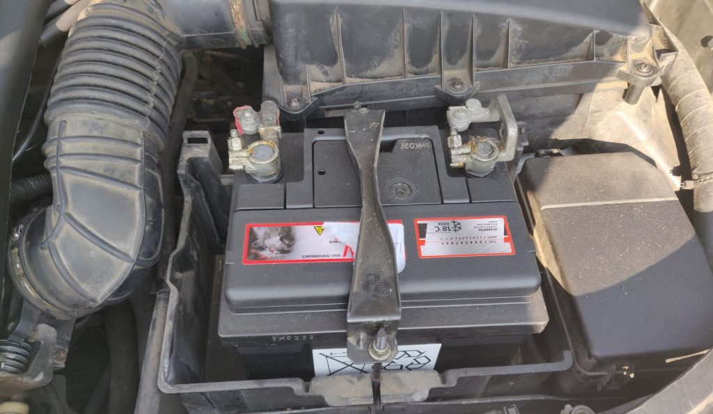 Don't do what the previous owner did here, buying the cheapest battery possible