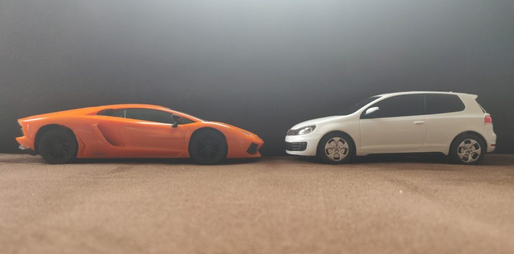 One of these is ideal for a first car. The other.....isn't